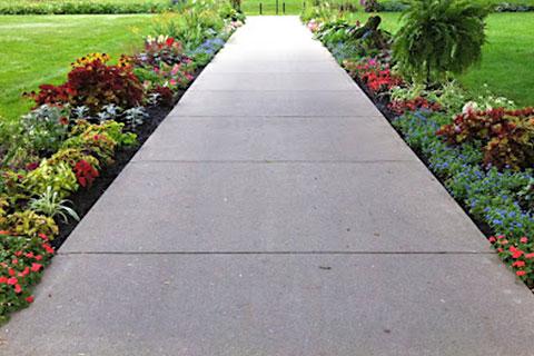 Cement Walkways